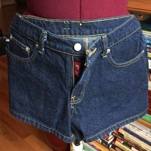 Ralph Lauren dark wash jean shorts